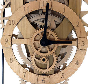 wall clock kit