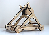 trebuchet 3 quarter view